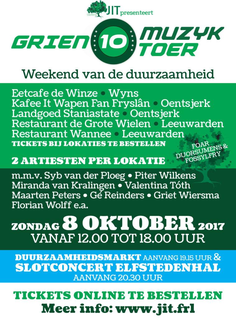 POSTERA3-GRIEN10MUZYKTOER2017-DEFDRUK.indd